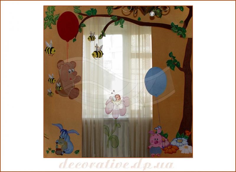 Мк штора для детской своими руками